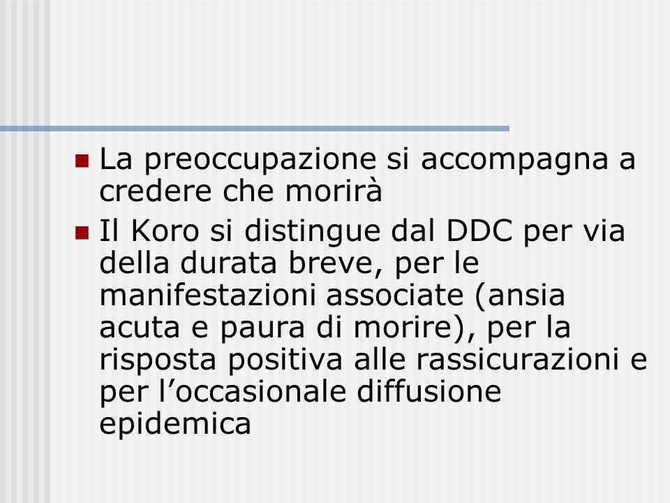 I soggetti col DDC possono ricevere una diagnosi aggiuntiva di Disturbo Delirante, Tipo Somatico, se la loro preoccupazione per il supposto difetto ne