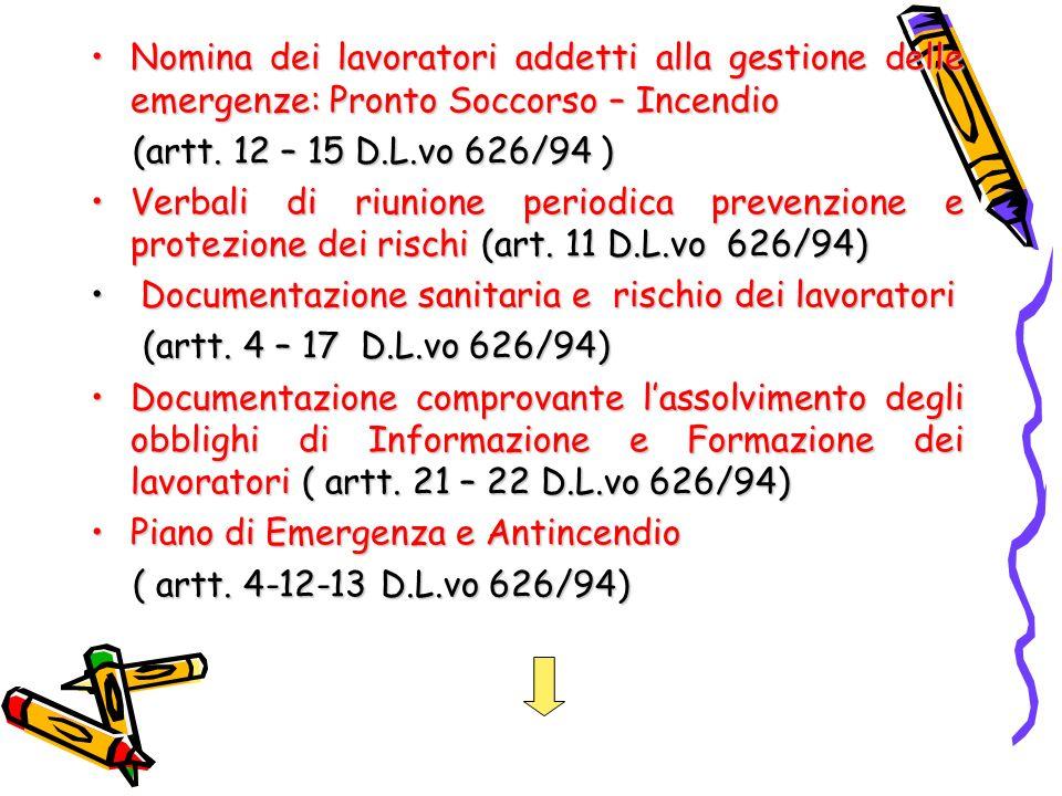 Documentazione relativa alla consegna dei DPIDocumentazione relativa alla consegna dei DPI (art.