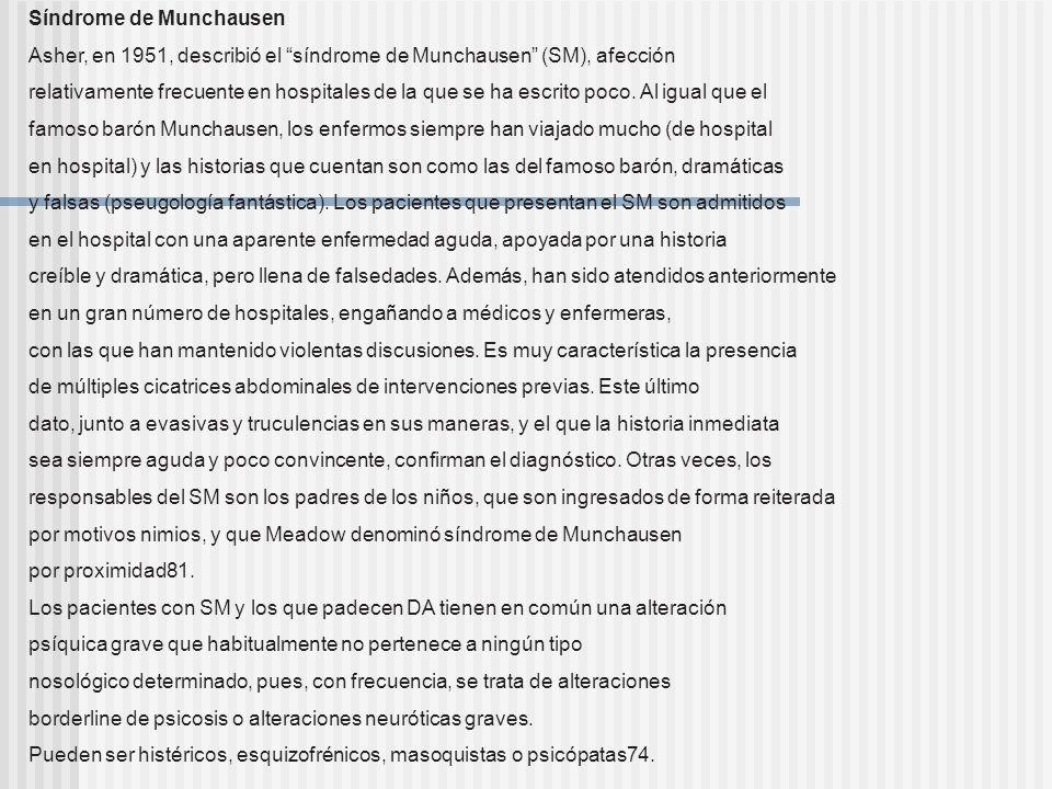 Orticaria idiopatica cronica Dermatitis artefacta (Dr. A. Rodríguez). Mujer de 45 años. Lesiones en ambas mamas, que se iniciaron a los pocos meses de
