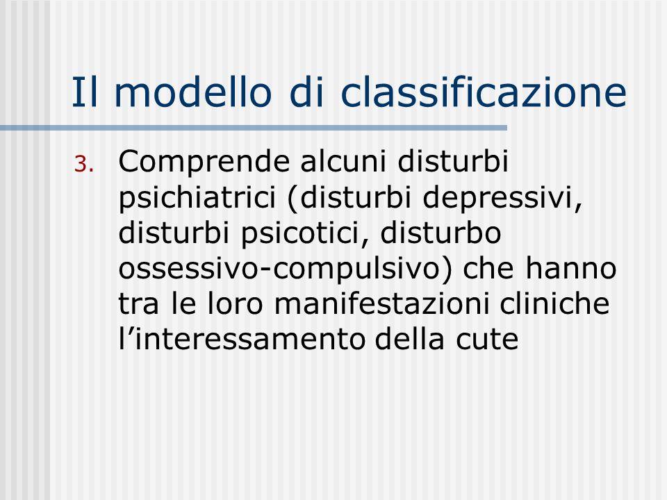 Il modello di classificazione 2.