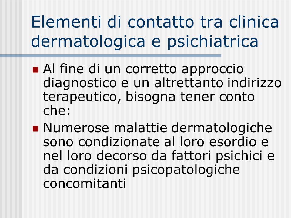 IL PROGRAMMA DEL CORSO Il corso si propone di offrire agli studenti i concetti basilari relativi alle malattie dermatologiche a eziopatogenesi psicosomatica.