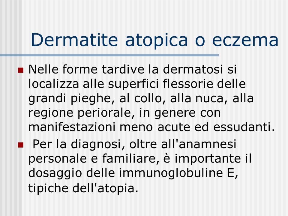 Dermatite atopica o eczema Bambino di tre mesi.Primo figlio.