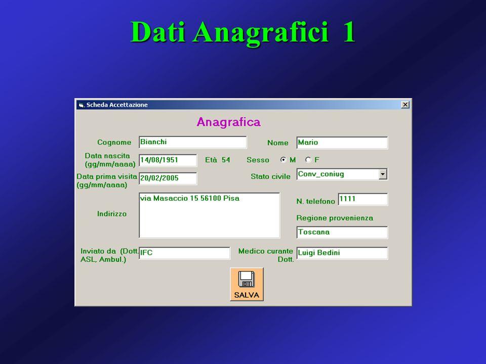 Dati Anagrafici 1