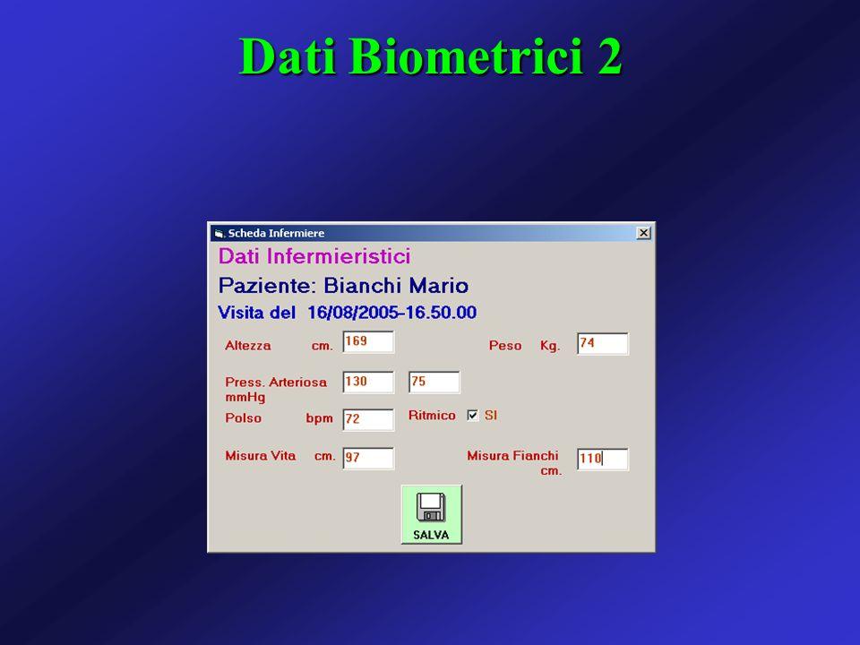 Dati Biometrici 2
