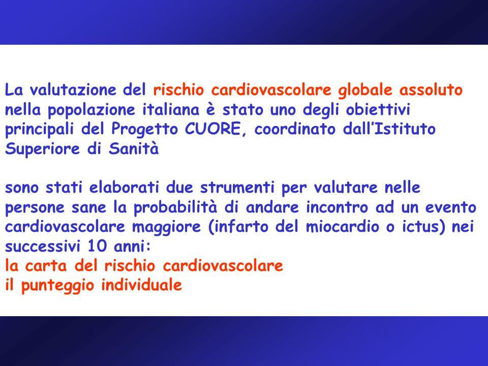 Delibera Giunta Regionale n.958 del 18/12/2006 Piano Nazionale della Prevenzione 2005-2007: Progetto Cuore.