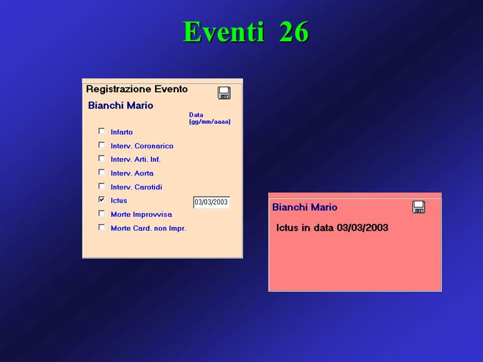 Eventi 26