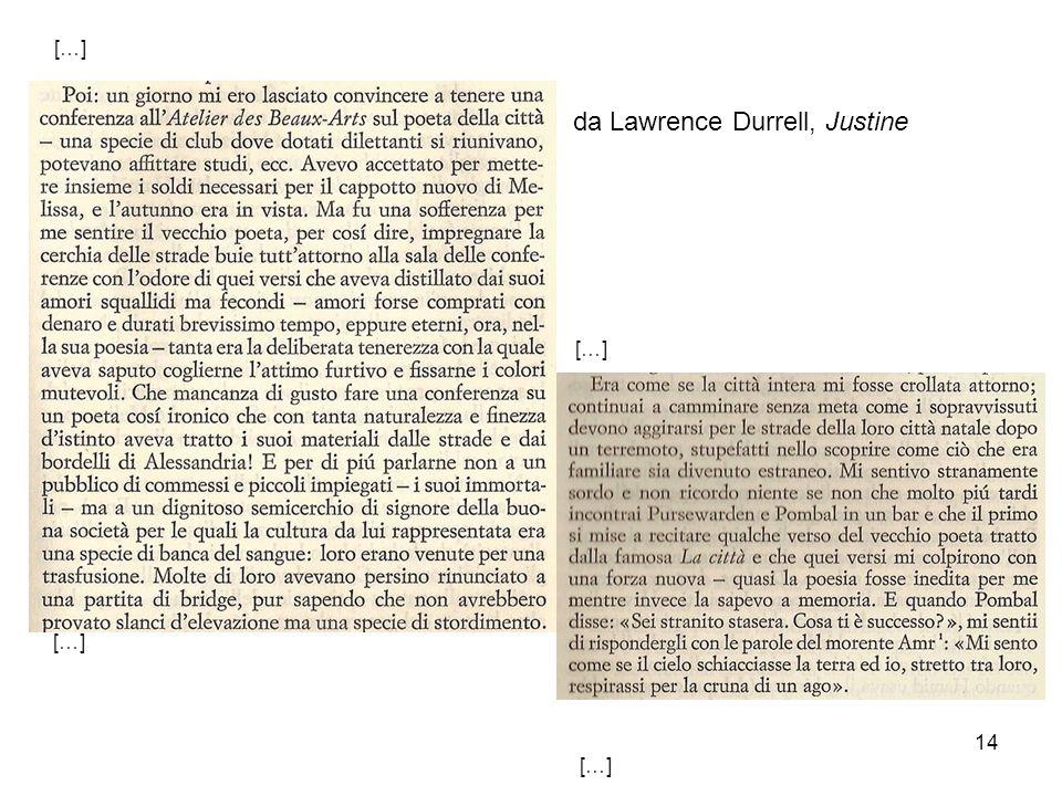 14 da Lawrence Durrell, Justine […]