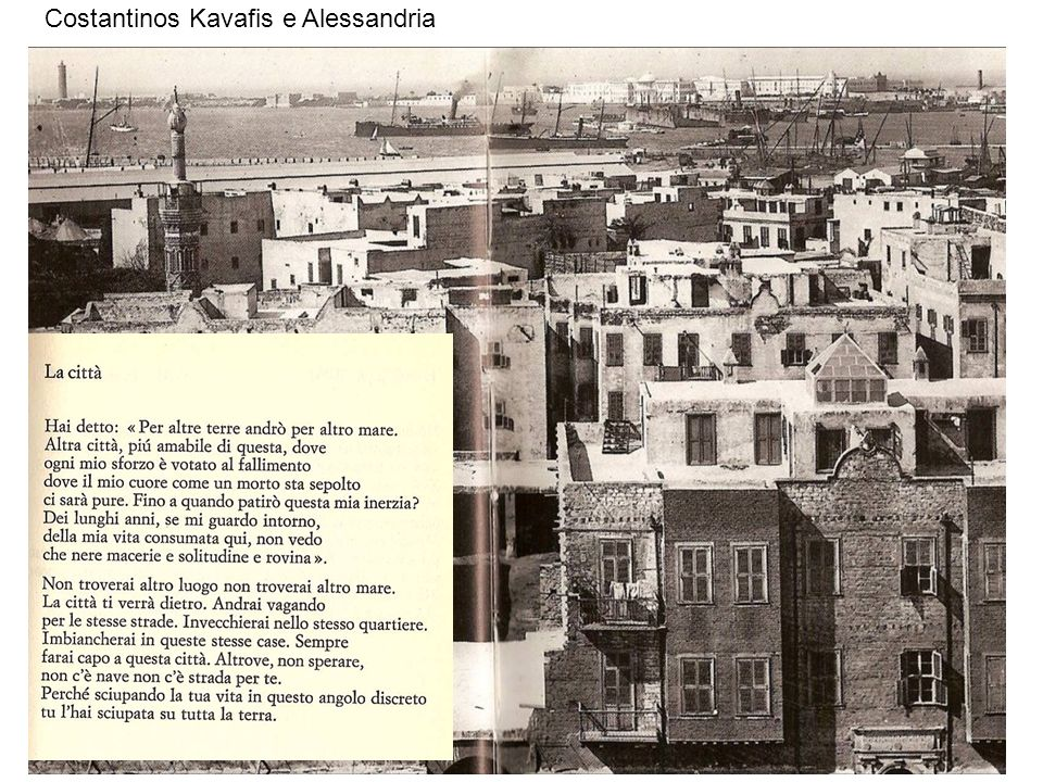 15 Costantinos Kavafis e Alessandria