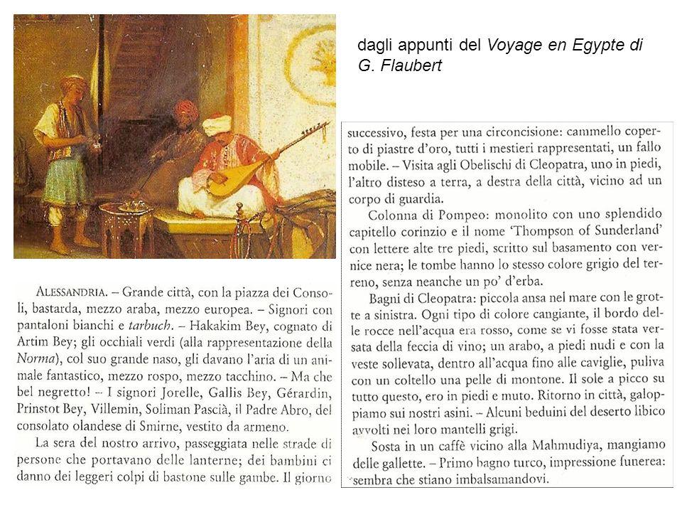 9 dagli appunti del Voyage en Egypte di G. Flaubert