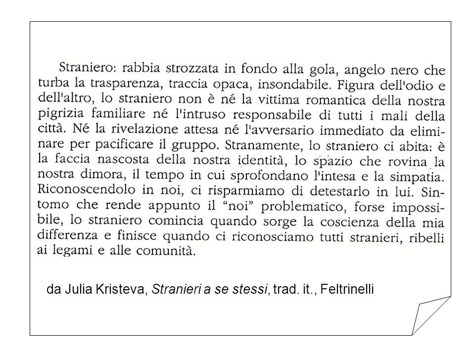 da Julia Kristeva, Stranieri a se stessi, trad. it., Feltrinelli