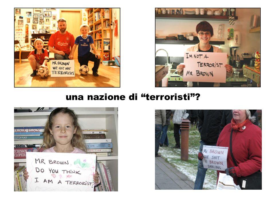 una nazione di terroristi?