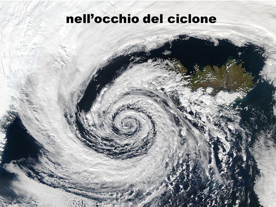 nellocchio del ciclone