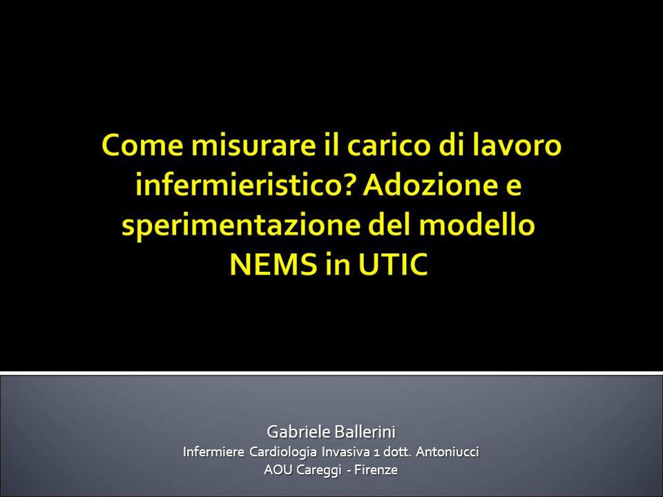 Gabriele Ballerini Infermiere Cardiologia Invasiva 1 dott. Antoniucci AOU Careggi - Firenze