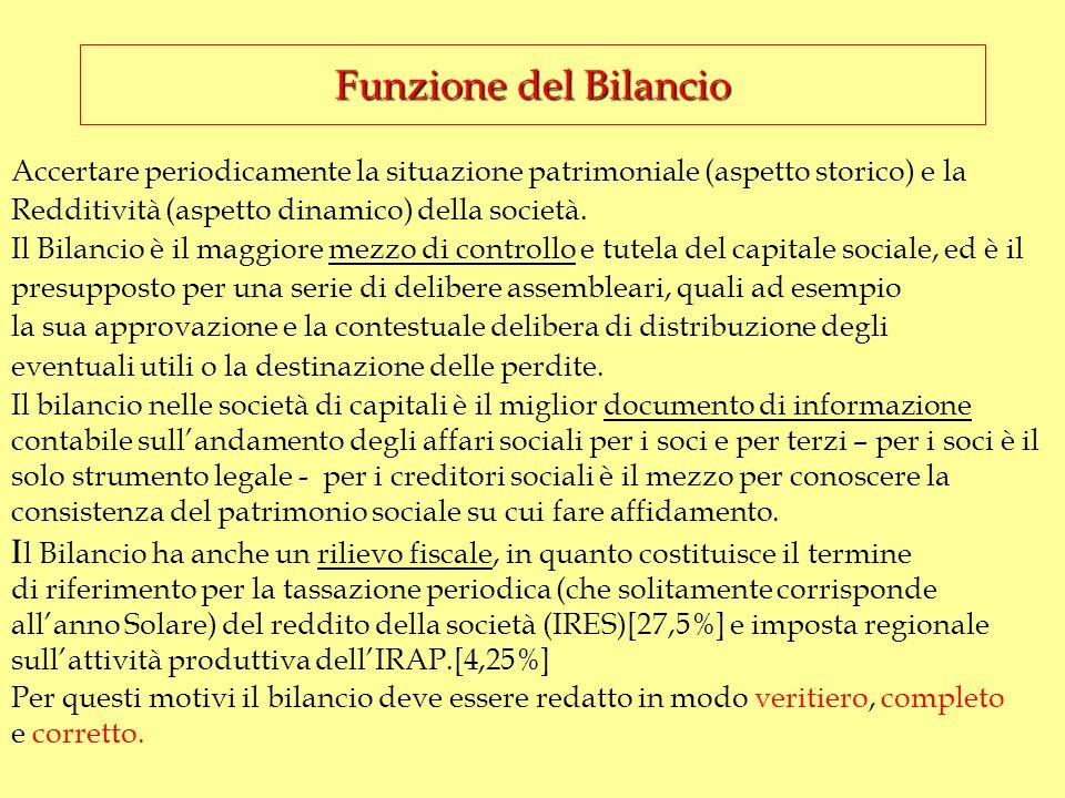Altro elemento importante da non sottovalutare è presente nellart. 2433 comma 2°…. non possono essere pagati dividendi sulle azioni, se non per utili