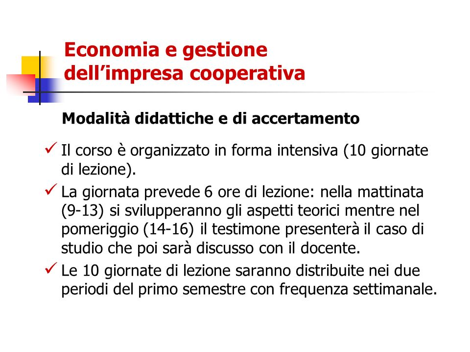 Le grandi imprese cooperative Tra 1971 e 2001 le imprese con almeno 500 addetti passano da 28 a 121.