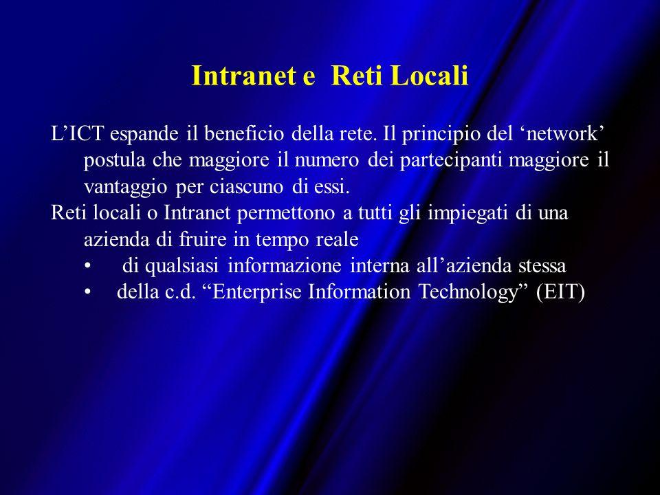 Intranet e Reti Locali LICT espande il beneficio della rete.