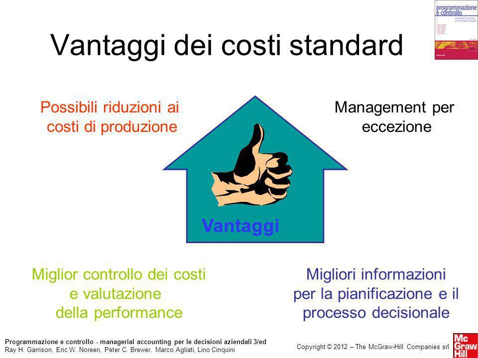 Programmazione e controllo - managerial accounting per le decisioni aziendali 3/ed Ray H. Garrison, Eric W. Noreen, Peter C. Brewer, Marco Agliati, Li