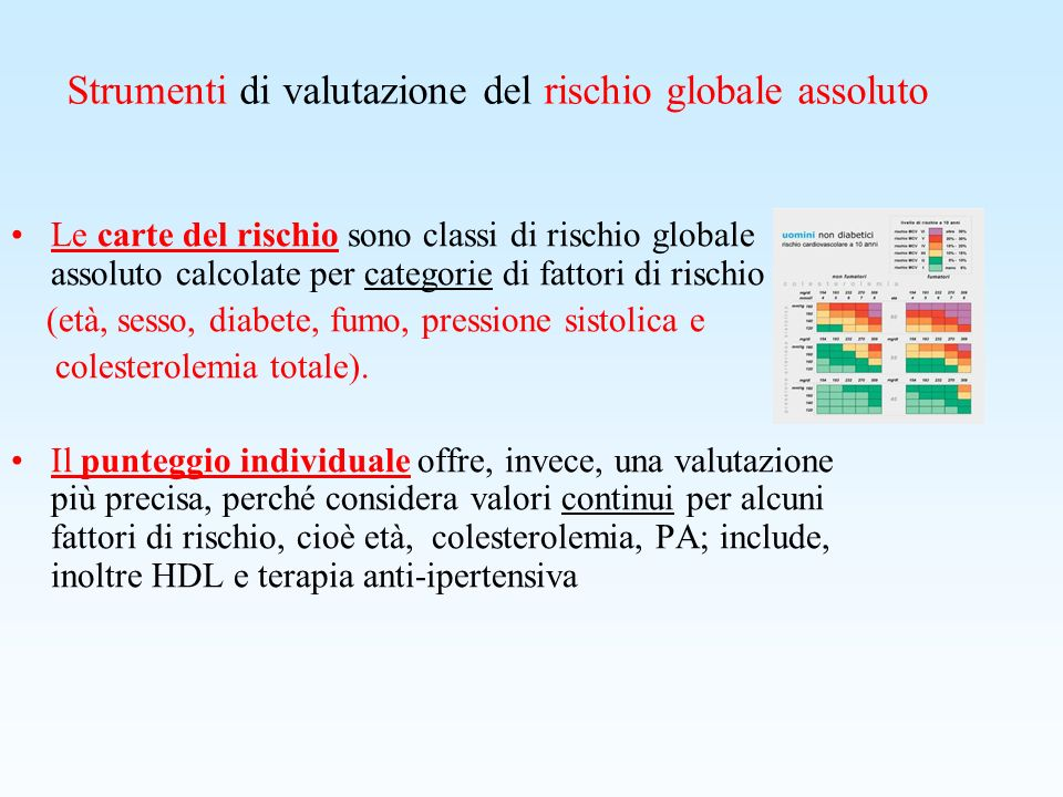 Patologia Attuale non CV