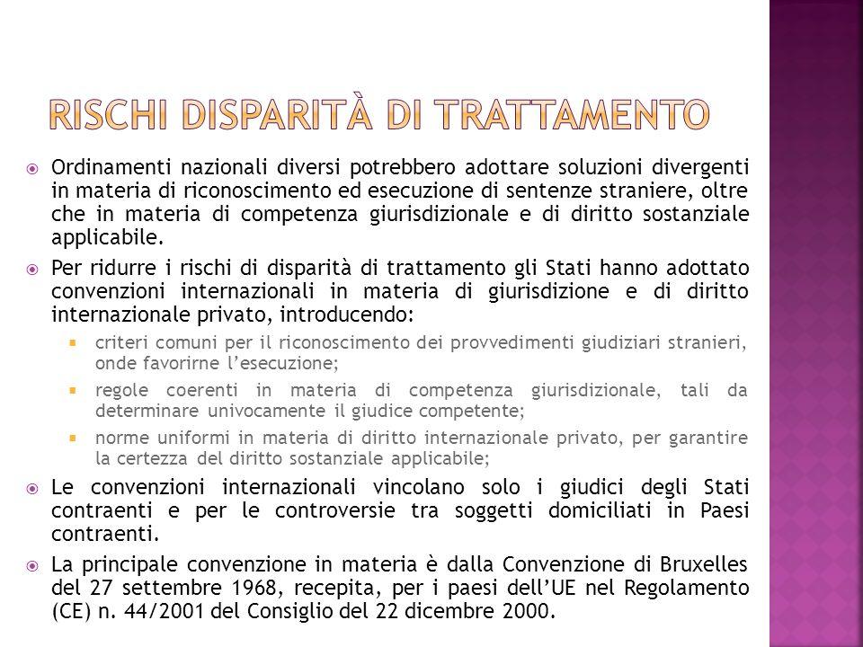 Il sistema del diritto internazionale privato italiano si basa su la legge 31 maggio 1995, n.