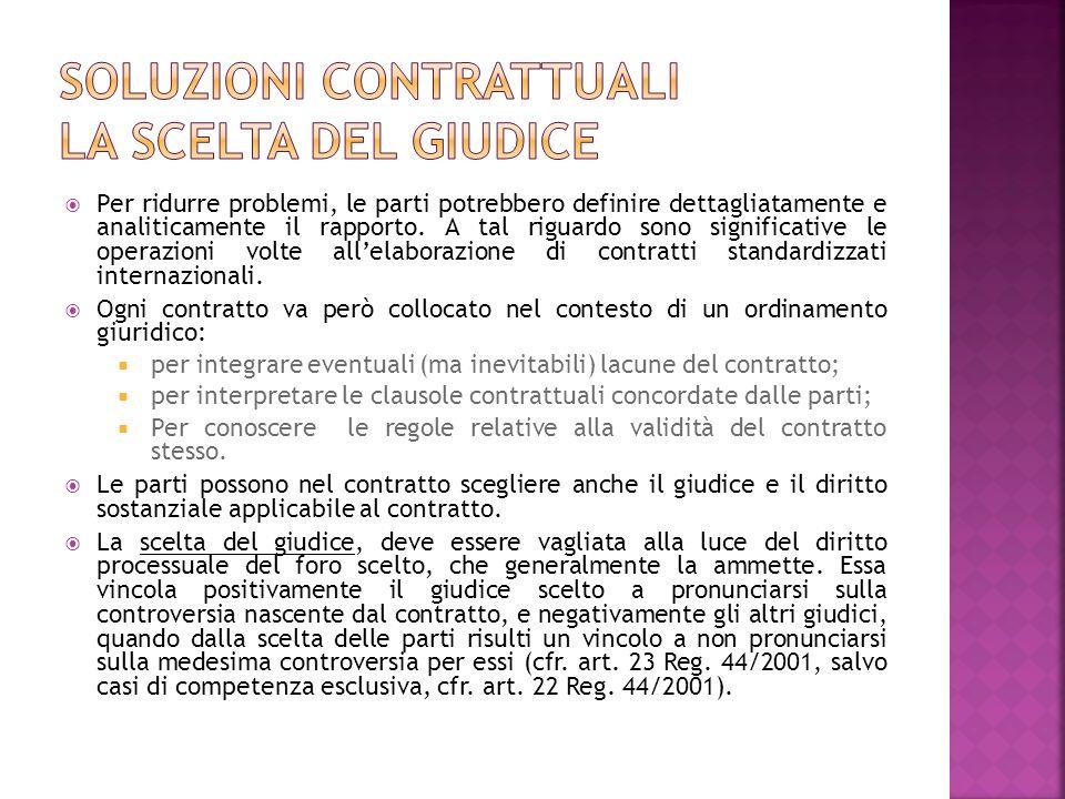 Le parti possono nel contratto devolvere le eventuali controversie che da esso scaturiscano in arbitri.