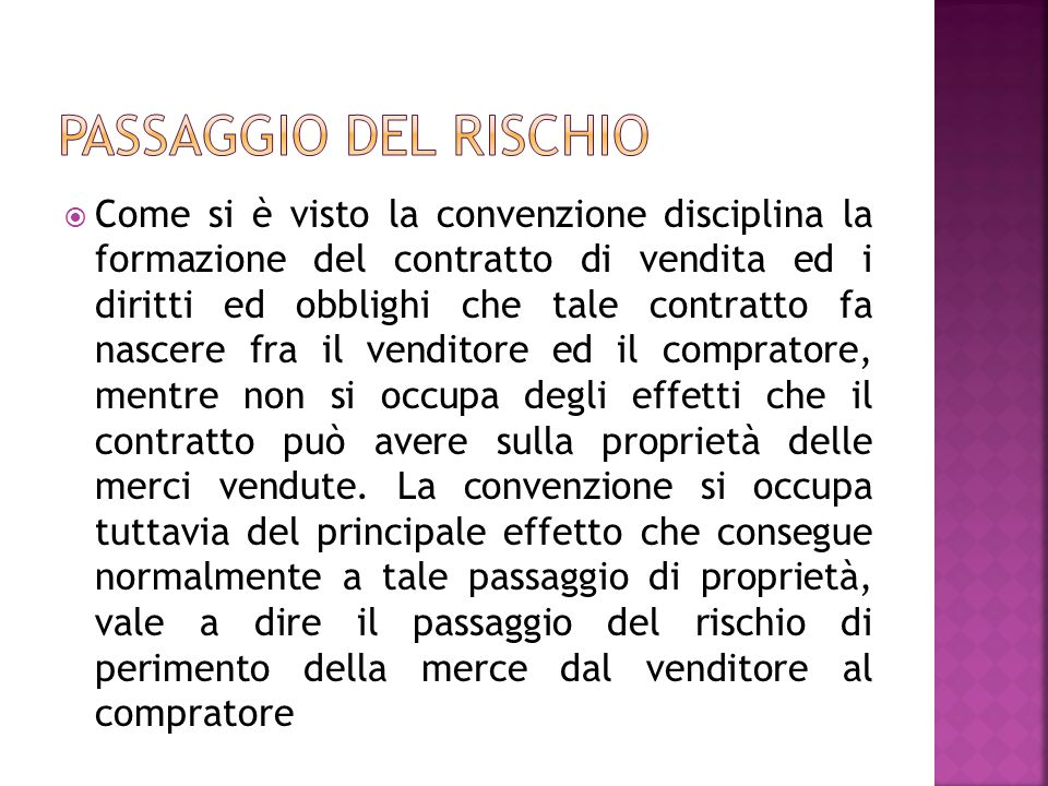 L acquirente può dichiarare il contratto rescisso (art.