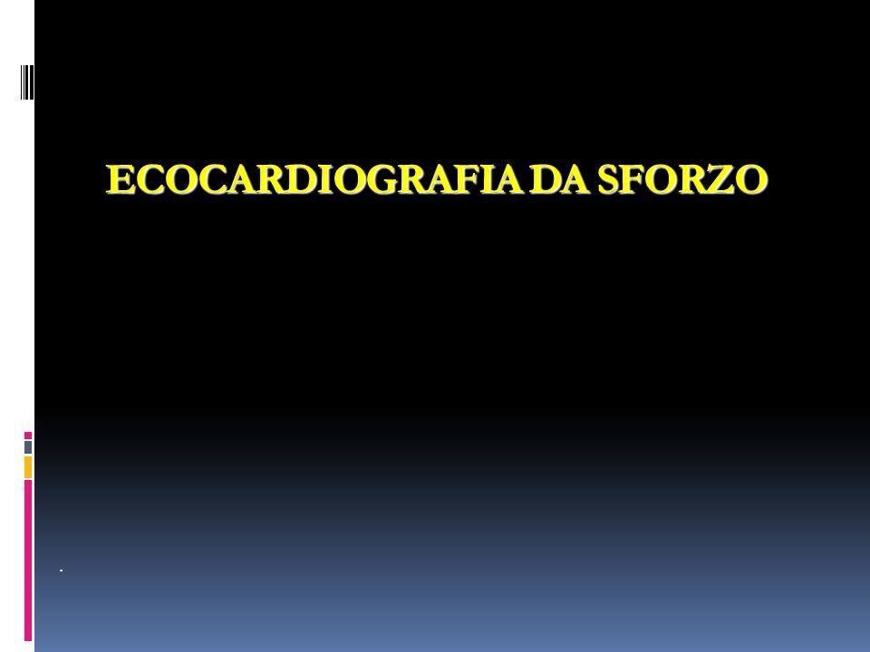 ECOCARDIOGRAFIA DA SFORZO.