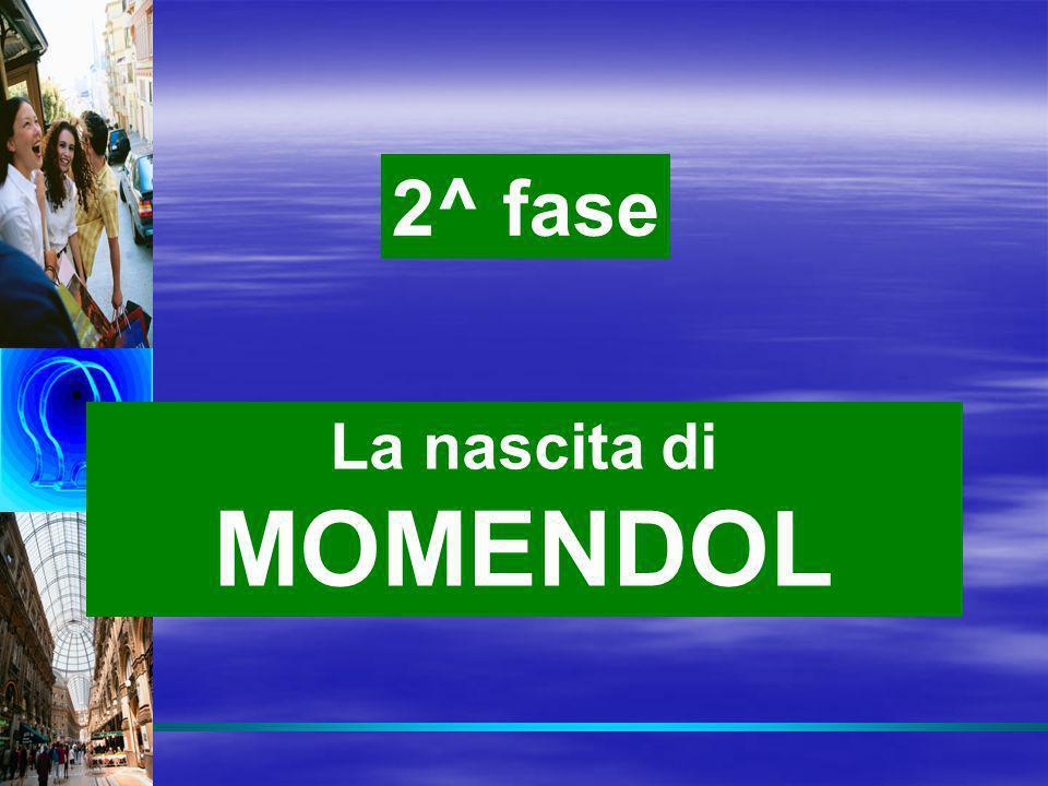 2^ fase La nascita di MOMENDOL