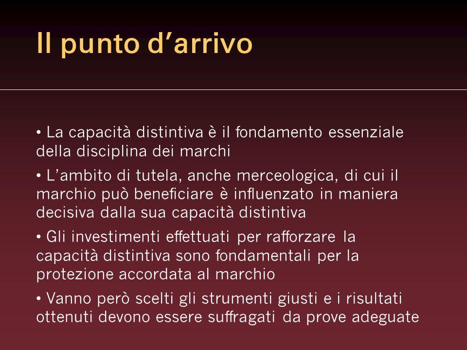 Qualche caso concreto Storck (Trib.CE, 10.11.2004) Toblerone (Trib.