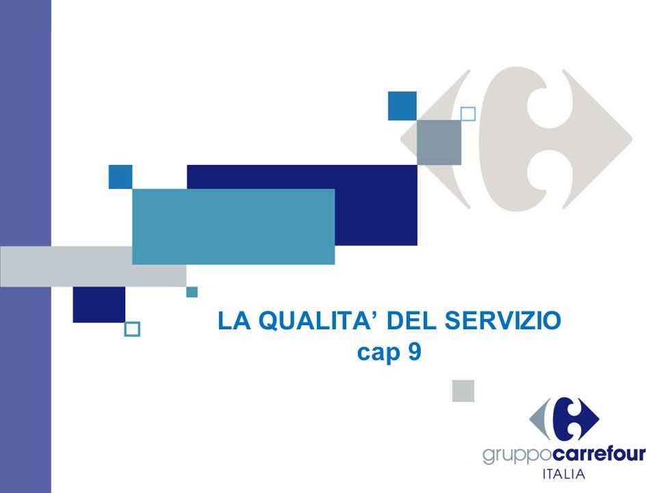DEFINIZIONE E CONTENUTI DELLA QUALITA DEL SERVIZIO Limportanza della qualità del servizio nei diversi settori : il caso UNICREDIT / BPER OCCORE DISTINGUERE TRA LIVELLO E QUALITA DEL SERVIZIO COMMERCIALE LA QUALITA DEL SERVIZIO E LA MODALITA CON CUI SI EFFETTUA LA PRESTAZIONE E PUO ESSERE DECLINATA PER FORMATO-INSEGNA LA QUALITA DEI PRODOTTI E DEI SERVIZI : La qualità di un bene può essere facilmente codificata in parametri oggettivi e misurabili, mentre la qualità di un servizio è meno standardizzabile e misurabile Gestione ex post / ex ante Trade off prezzo / qualità