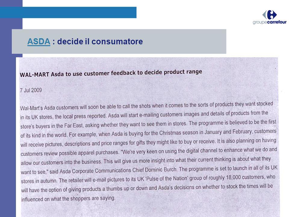 ASDAASDA : decide il consumatore