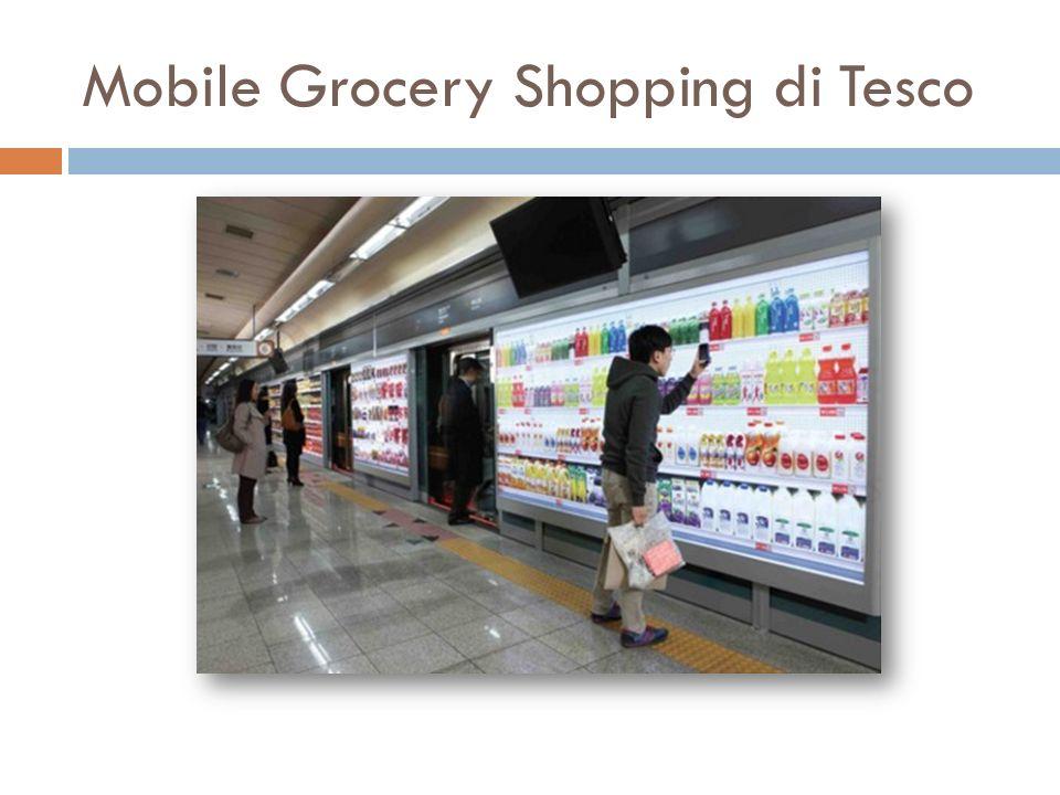 Mobile Grocery Shopping di Tesco