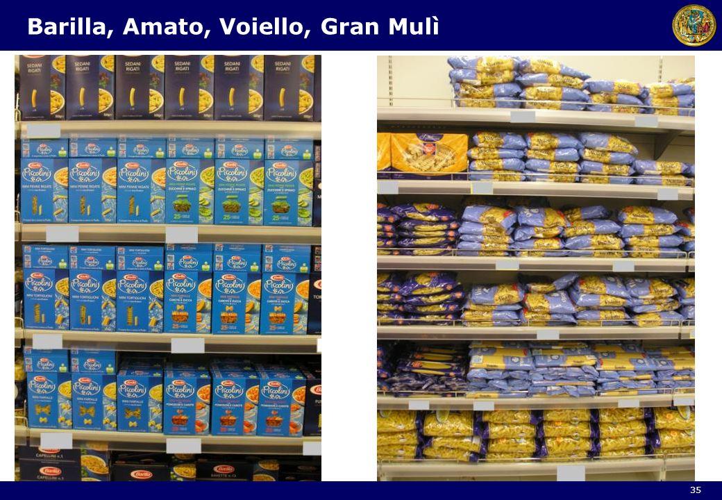 Barilla, Amato, Voiello, Gran Mulì 35