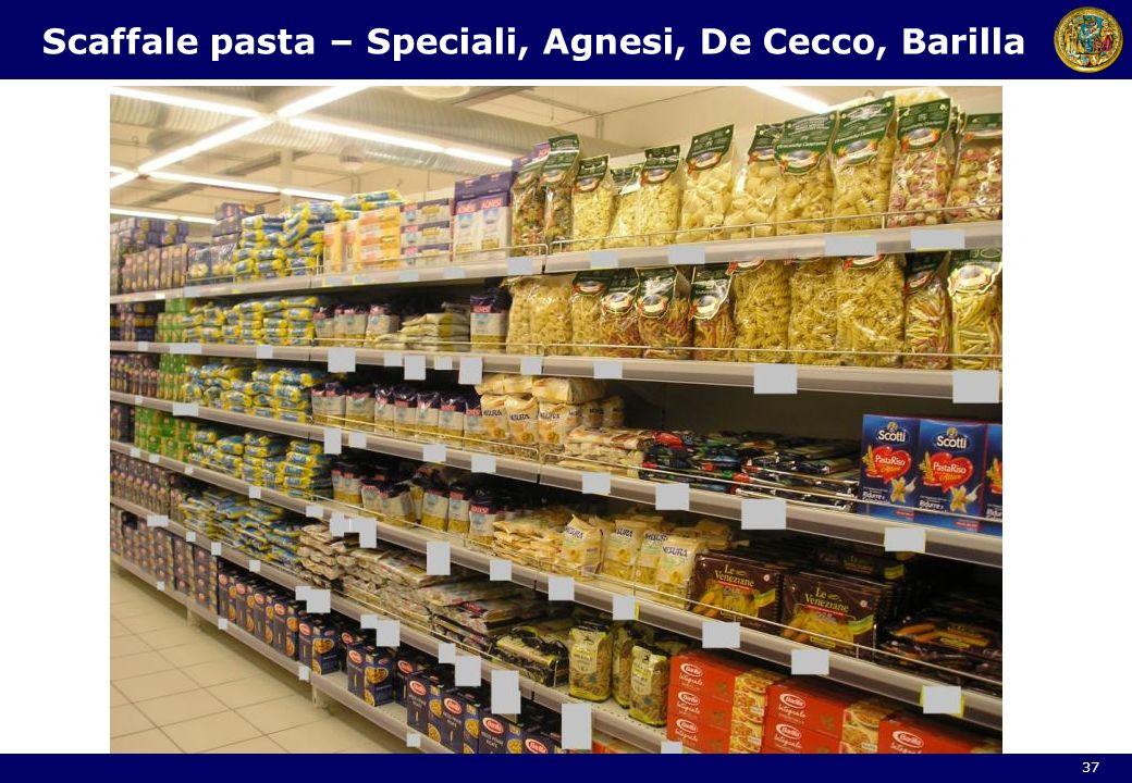 Scaffale pasta – Speciali, Agnesi, De Cecco, Barilla 37