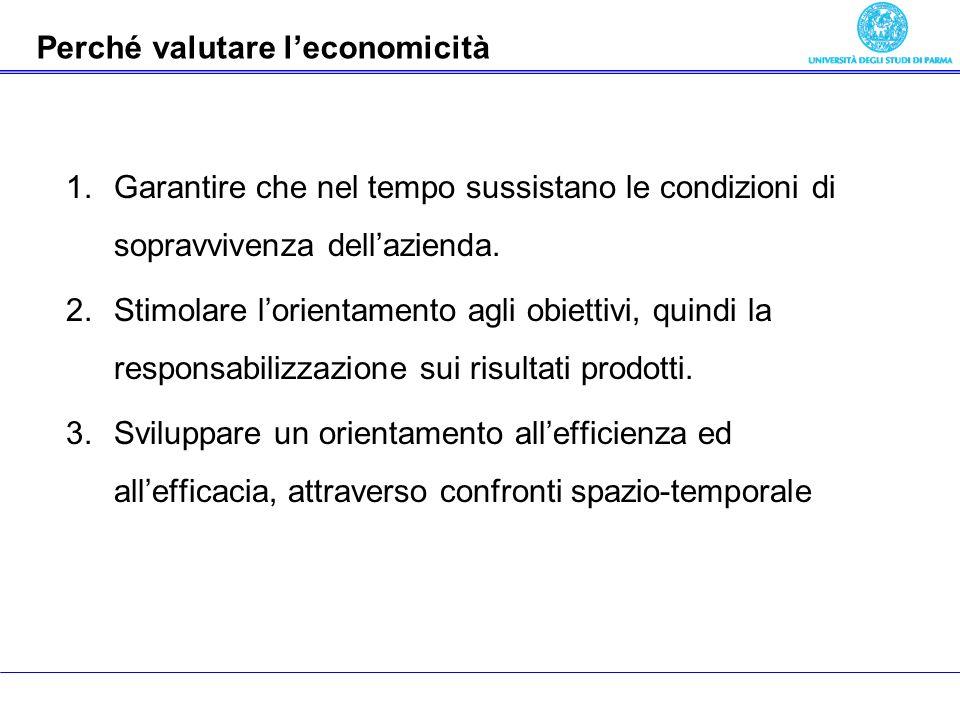 Economia delle aziende pubbliche 1.Garantire che nel tempo sussistano le condizioni di sopravvivenza dellazienda. 2.Stimolare lorientamento agli obiet
