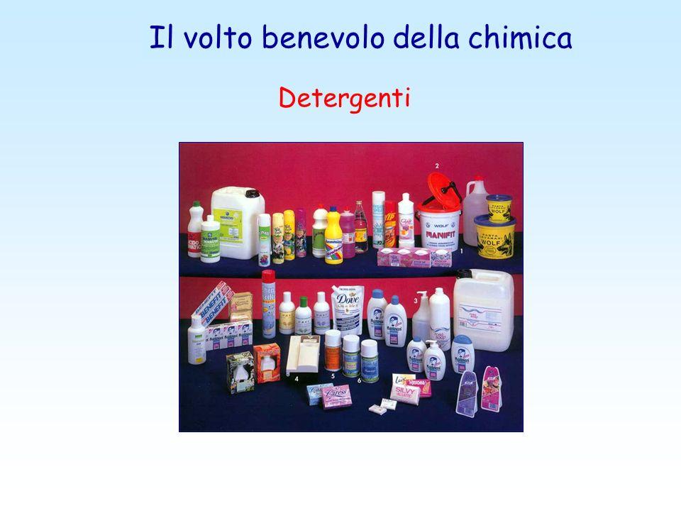 Il volto benevolo della chimica Detergenti