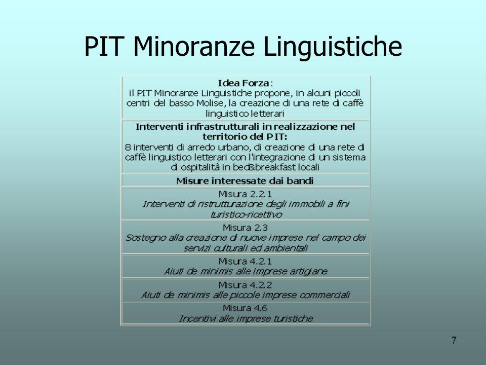 7 PIT Minoranze Linguistiche
