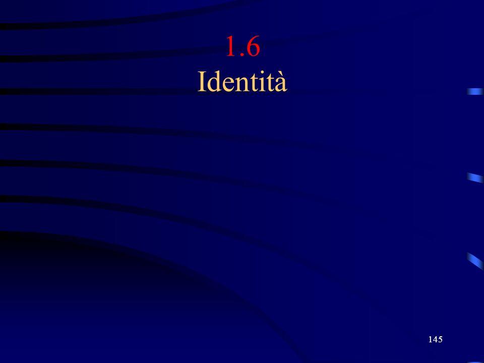 145 1.6 Identità