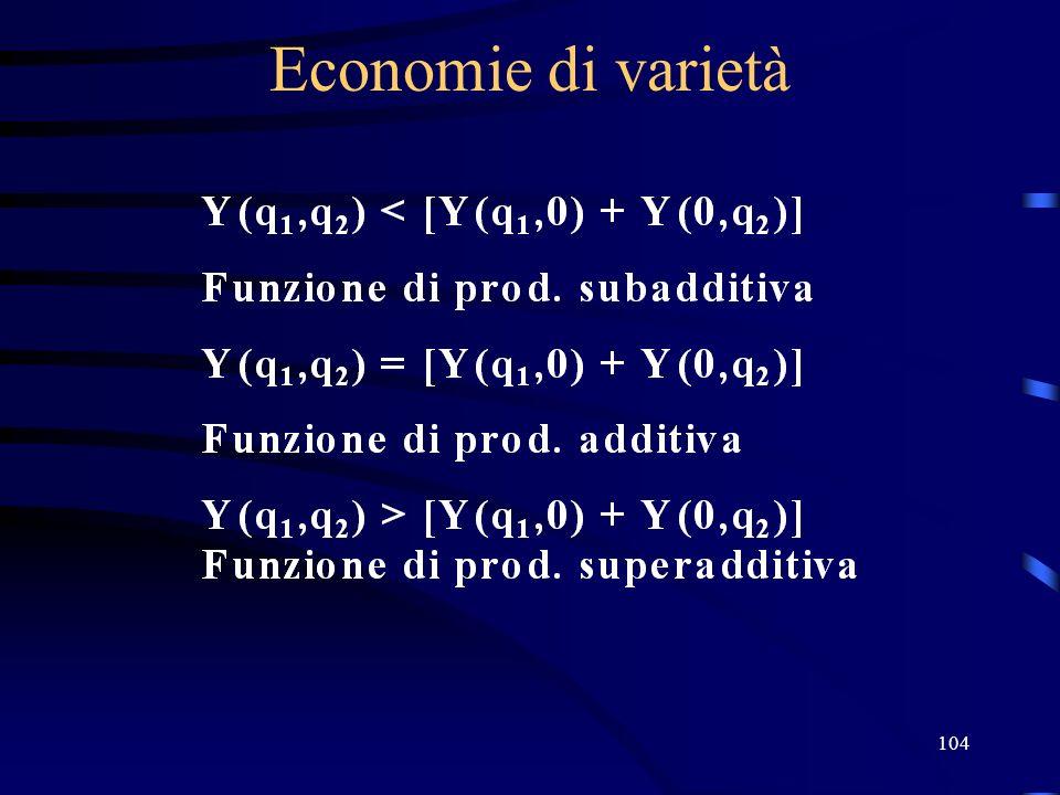 104 Economie di varietà
