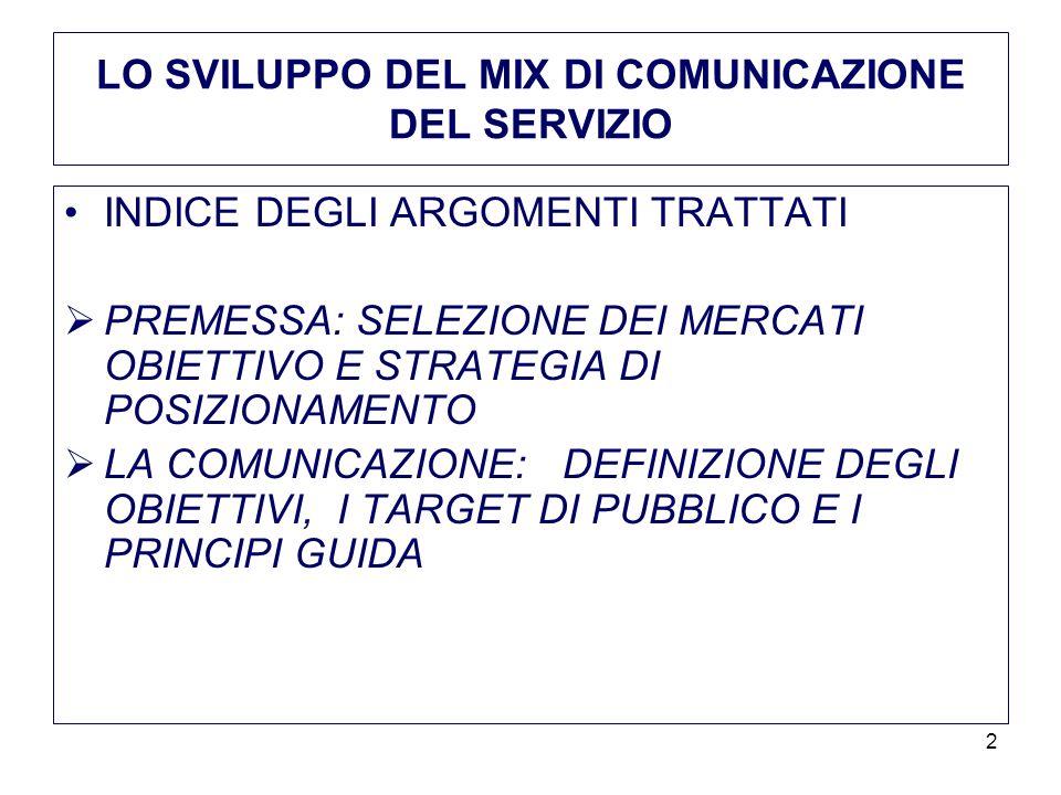 13 IL MIX DI COMUNICAZIONE ED IL COMPORTAMENTO DEL CONSUMATORE 2.