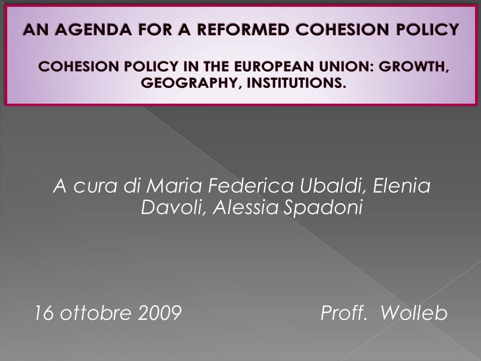 A cura di Maria Federica Ubaldi, Elenia Davoli, Alessia Spadoni 16 ottobre 2009 Proff. Wolleb