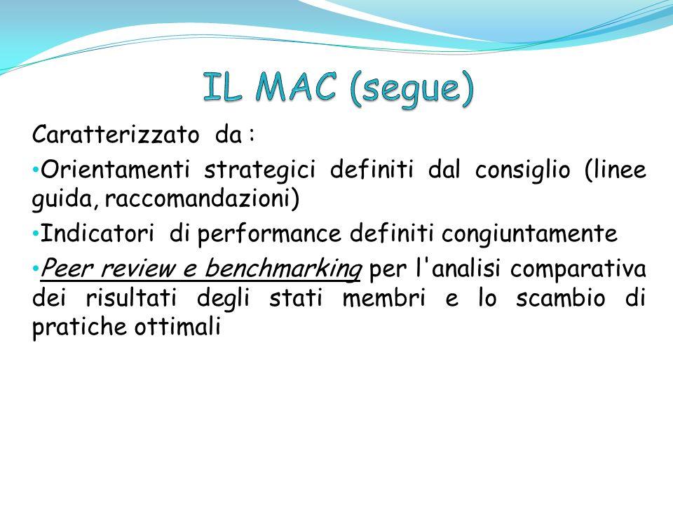 Caratterizzato da : Orientamenti strategici definiti dal consiglio (linee guida, raccomandazioni) Indicatori di performance definiti congiuntamente Pe