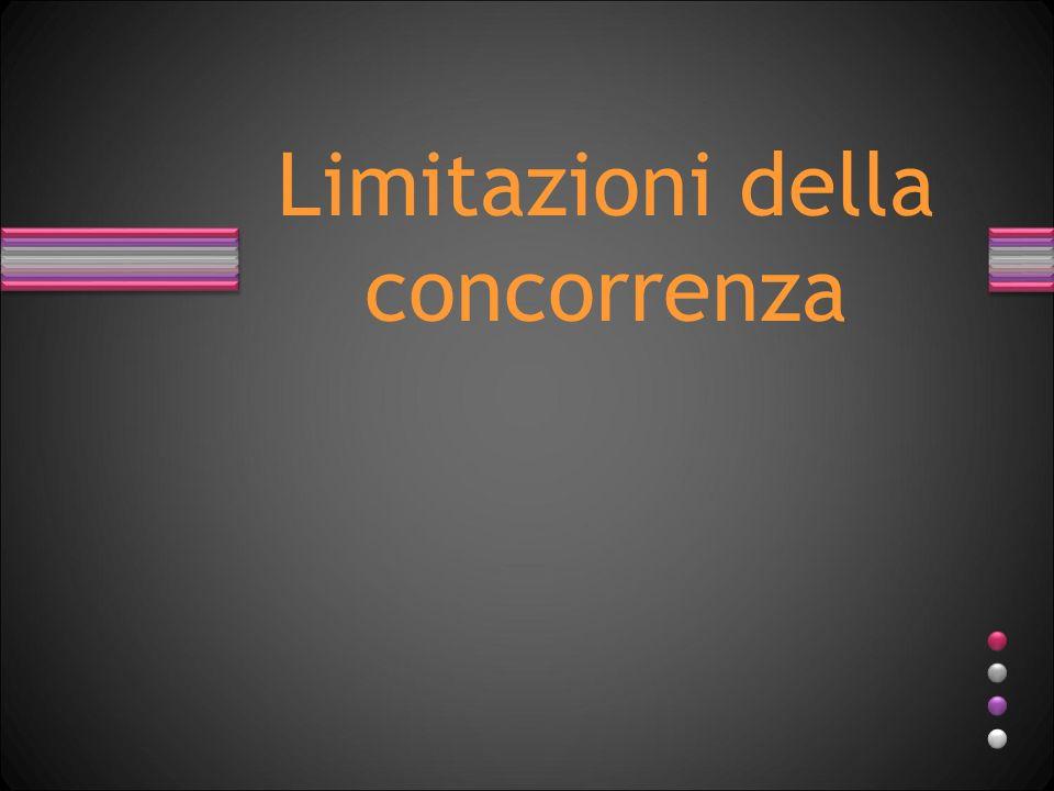 Limiti legali Autorizzazioni o concessioni.