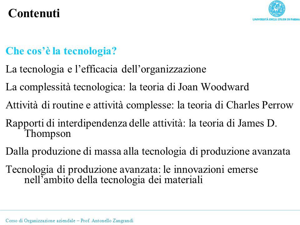 Corso di Organizzazione aziendale – Prof.Antonello Zangrandi 1.