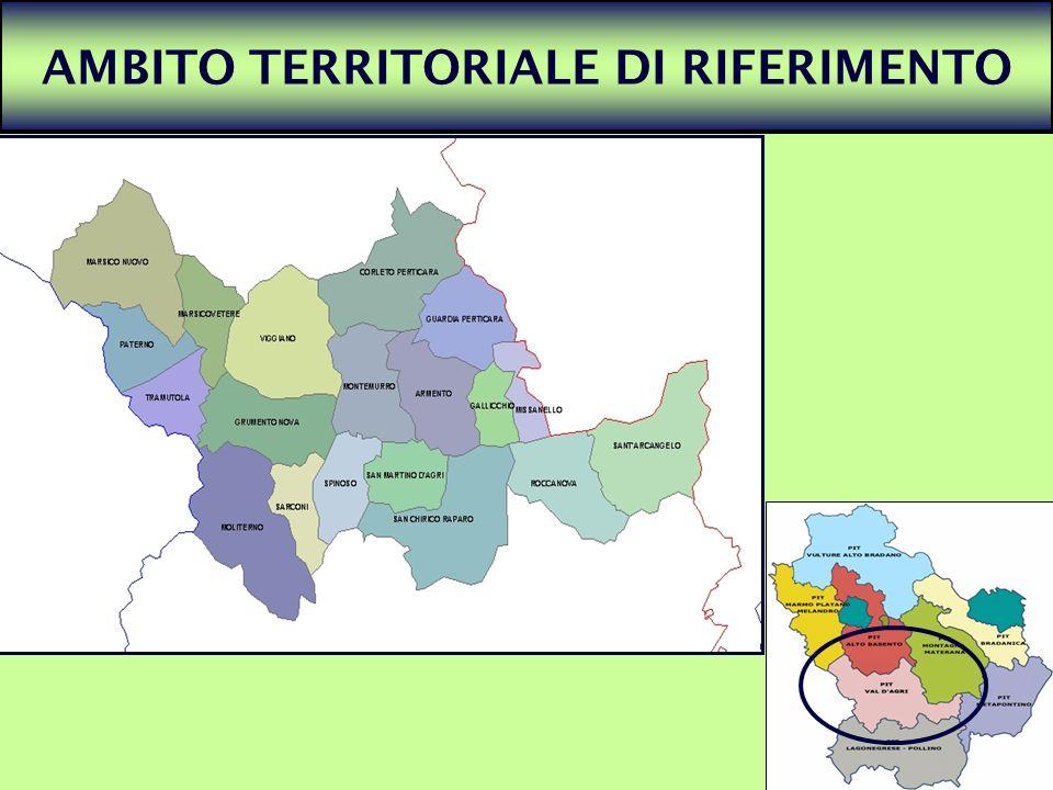 11 AMBITO TERRITORIALE DI RIFERIMENTO