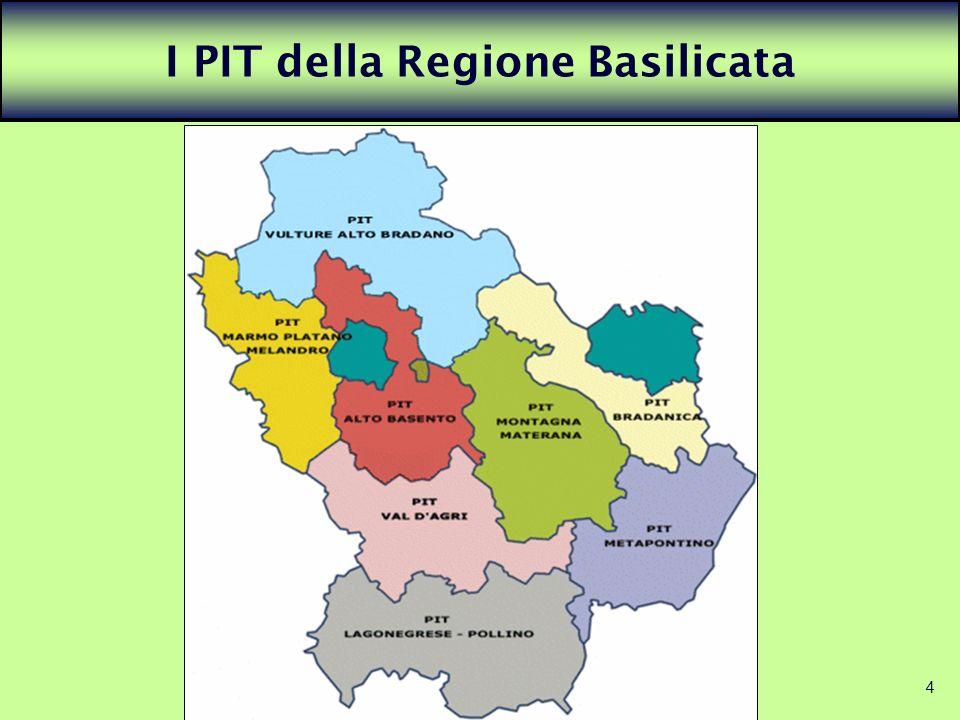 4 I PIT della Regione Basilicata