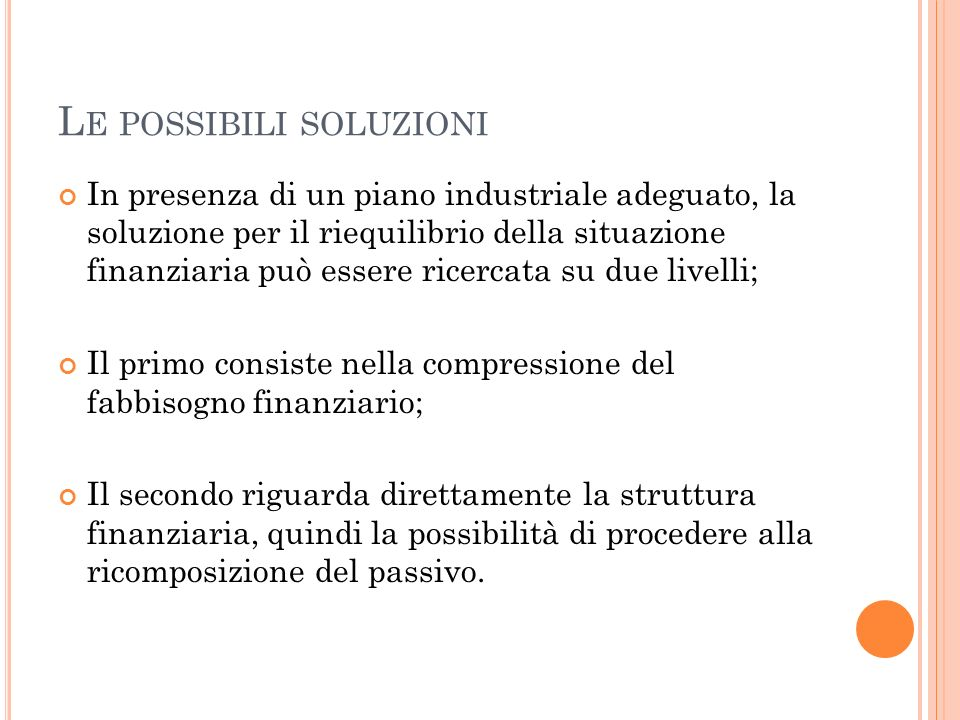 EBIT/OF: LA DEFINIZIONE DEL LIVELLO MASSIMO DI INDEBITAMENTO PriceWaterhouseCoopers figures from the correct accounting of Parmalat finanziaria are: Production value 100,0 % Value added 18,3 % - Workforce costs 13,6 % = EBITDA 4,7 % -Depreciations 4,1 % = EBIT 0,6 % The estimated production value is 8 billion euro.