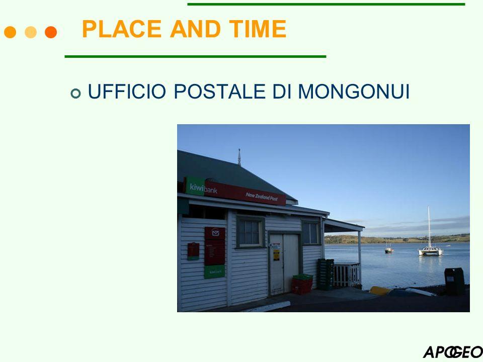 PLACE AND TIME UFFICIO POSTALE DI MONGONUI