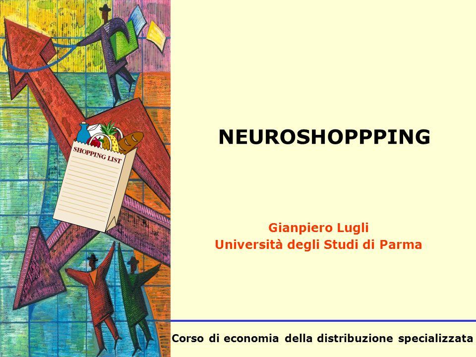 Corso di economia della distribuzione specializzata SISA NEUROSHOPPPING Gianpiero Lugli Università degli Studi di Parma