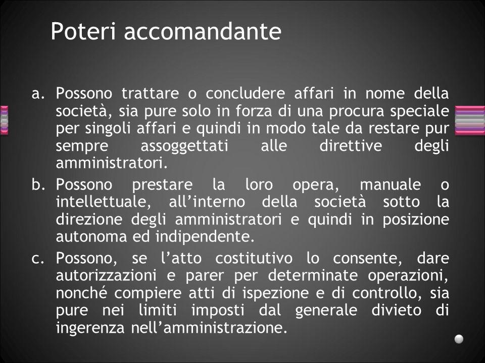 Amministrazione Amministrazione: attività di gestione dellimpresa sociale.