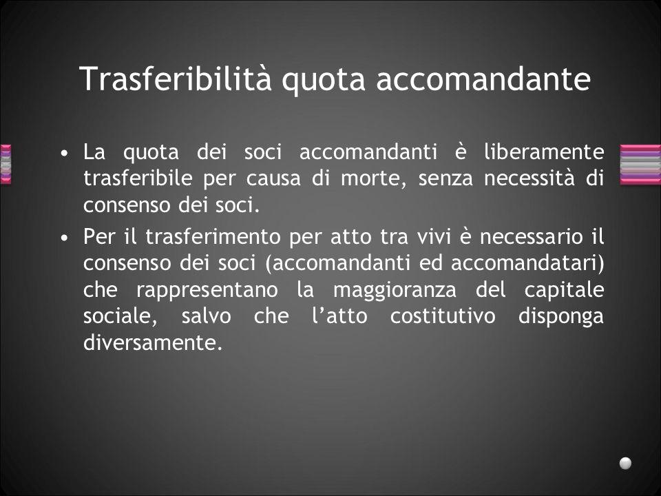 Modificazioni atto costitutivo Nella soc.sempl. e nella s.n.c.